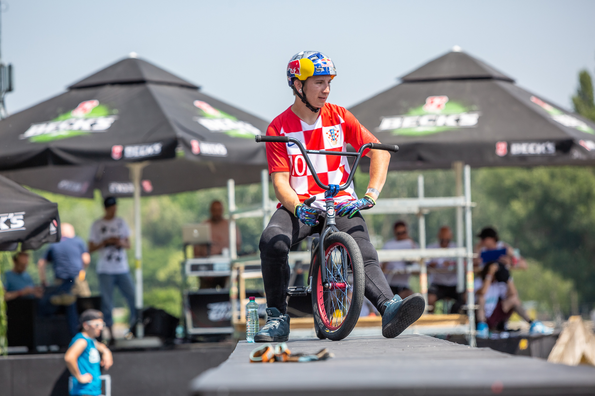 12 of best world BMX drivers are going to finals of 20. Pannonian Challenge