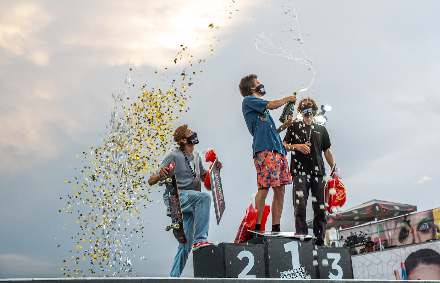 Friday at the Pannonian Challenge was marked by skate and the symbols of the urban culture
