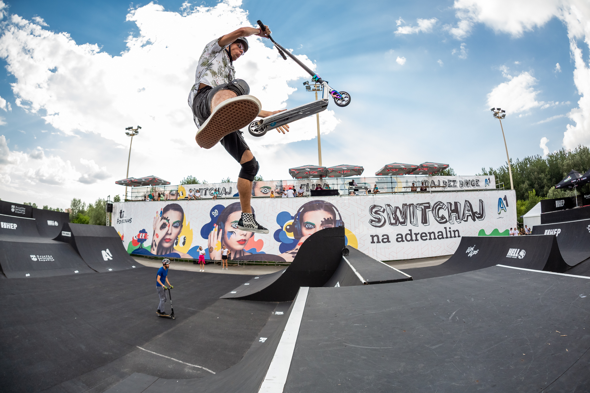 Pannonian Challenge Dots the I with Soaring Scooters