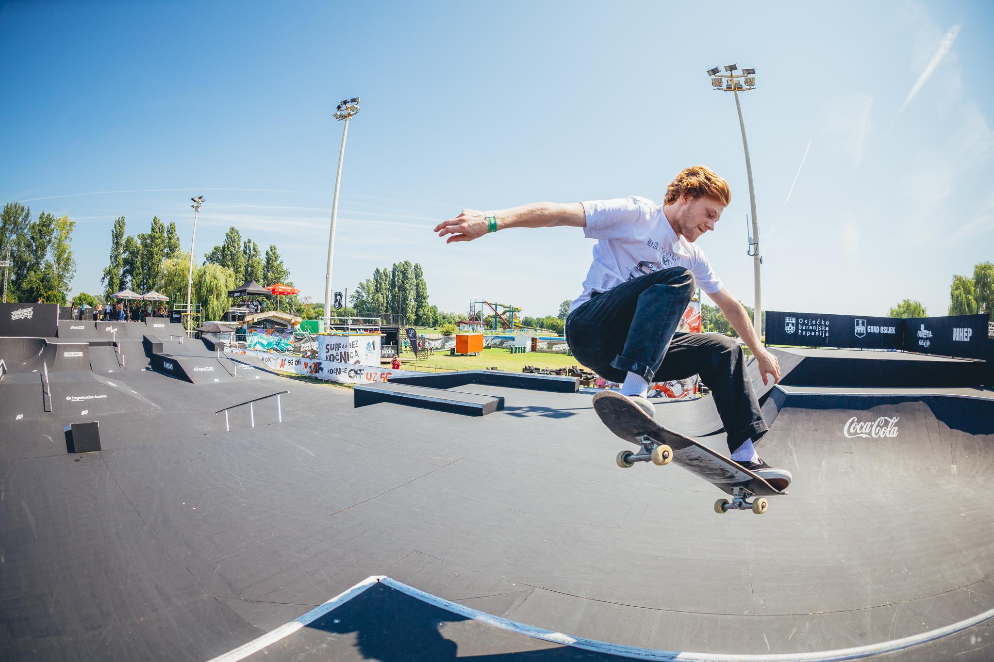 King Khan returned to the skate throne