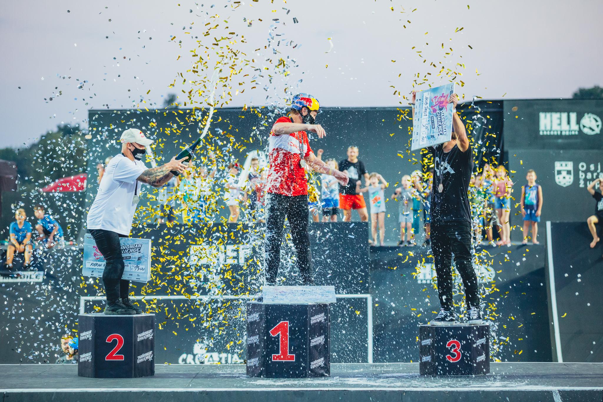 Marin Ranteš finally golden at Pannonian Challenge